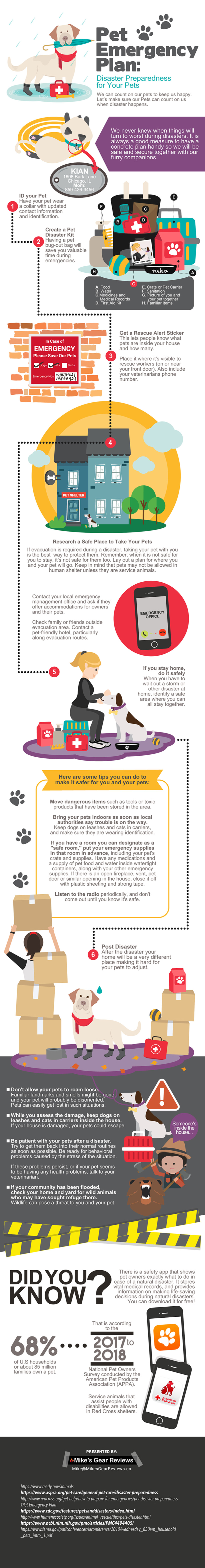 Pet Emergency Plan – Why You Need One